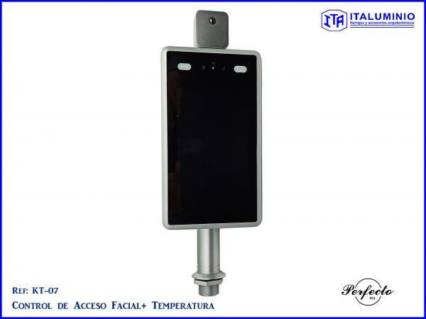 camara de temperatura, control de acceso, reconocimiento facial y temperatura